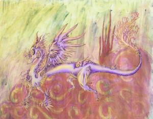 Mandi McKinney Spiral Storm and Digital Dragon.  jpg