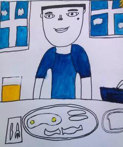 """""""Kareem's Meal"""" in Progress"""
