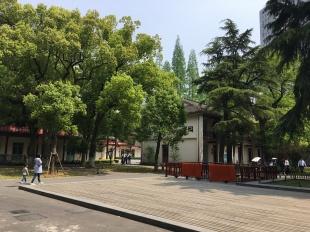 Open space inside WAB's plaza.