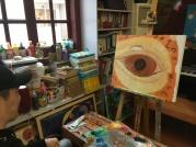 An in-progress eye by Long Xu.
